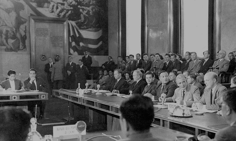 8th May To 21st July 1954 The Geneva Conference Vietnam The Art