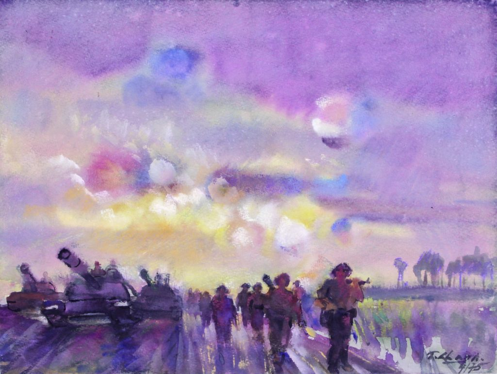 Marching on Saigon