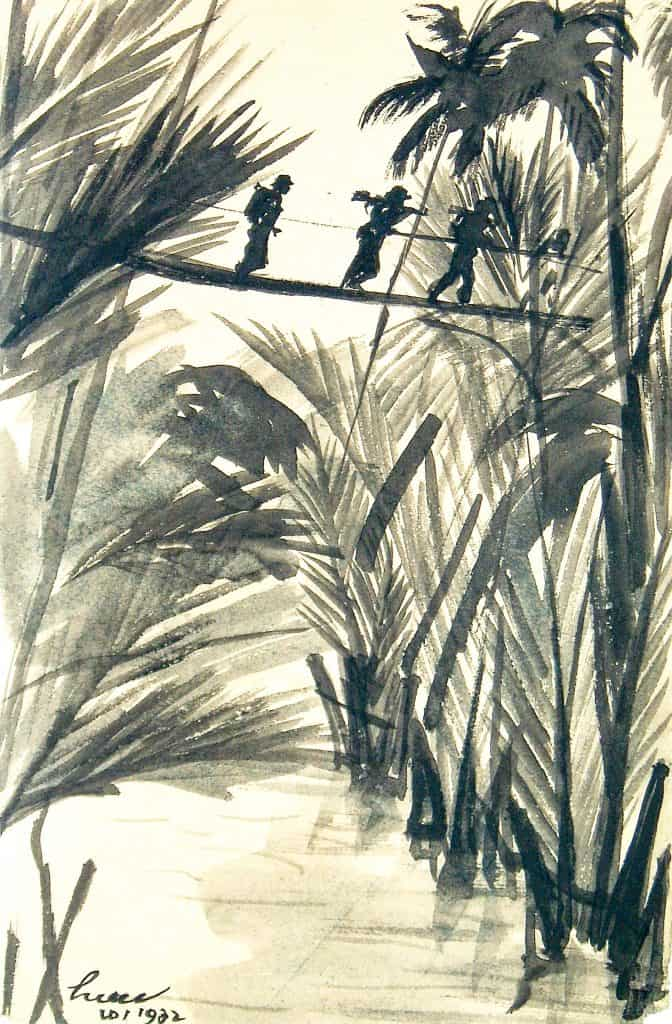 Trưóng Hiếu and the monkey bridge